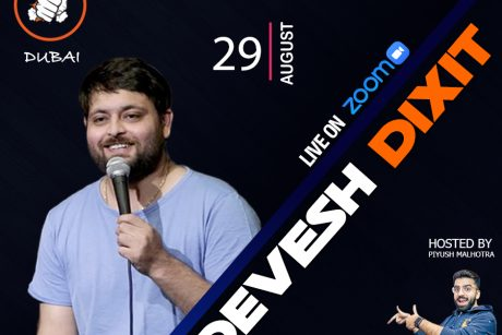 punchliners comedy show ft devesh dixit live in dubai