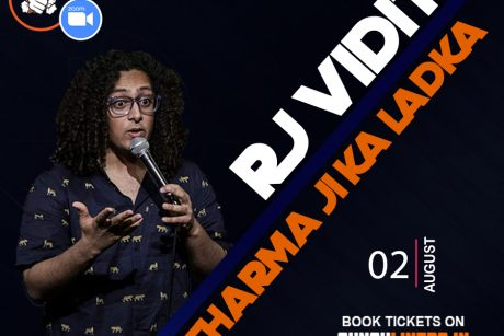 Punchliners comedy show ft Rj Vidit Sharma Live in India on Zoom