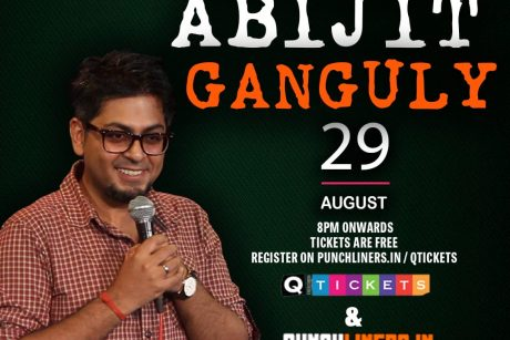 punchliners comedy show ft abijit gangult live in qatar