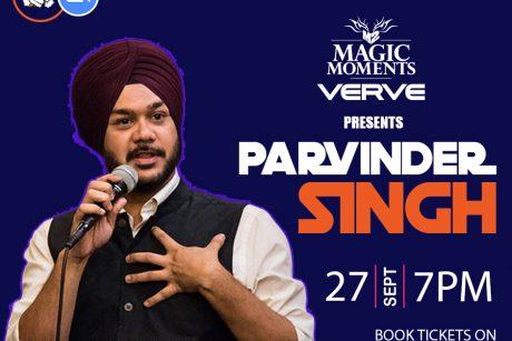punchliners comedy show ft parvinder singh